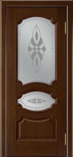 Дверь Лайндор Марта тон 2 стекло Византия