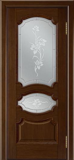 Дверь Лайндор Марта тон 2 стекло Рим