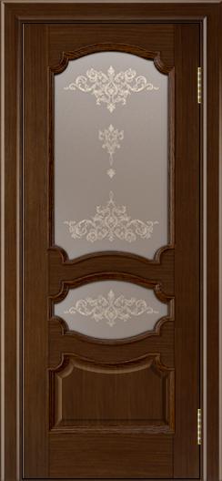 Дверь Лайндор Марта тон 2 стекло Шарм бронза