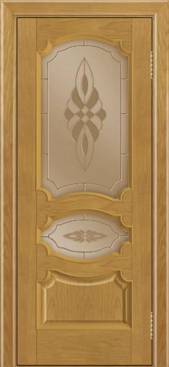 Дверь Лайндор Марта тон 24 стекло Византия бронза