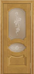 Дверь Лайндор Марта тон 24 стекло Рим бронза