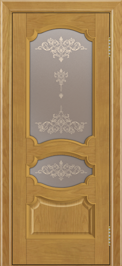 Дверь Лайндор Марта тон 24 стекло Шарм бронза