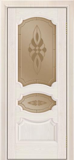 Дверь Лайндор Марта тон 27 стекло Византия бронза