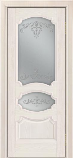 Дверь Лайндор Марта тон 27 стекло Элегия светлое наливка прозрачная