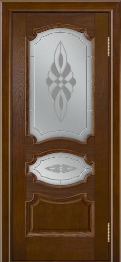 Дверь Лайндор Марта тон 30 стекло Византия