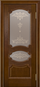 Дверь Лайндор Марта тон 30 стекло Шарм бронза