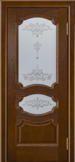 Дверь Лайндор Марта тон 30 стекло Шарм светлое