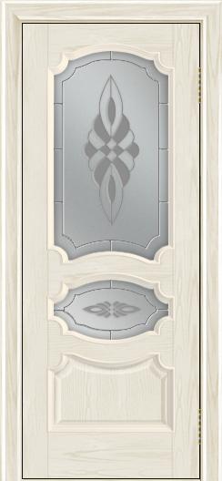 Дверь Лайндор Марта тон 34 стекло Византия