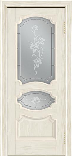Дверь Лайндор Марта тон 34 стекло Рим