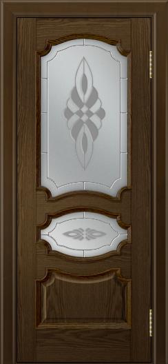 Дверь Лайндор Марта тон 35 стекло Византия