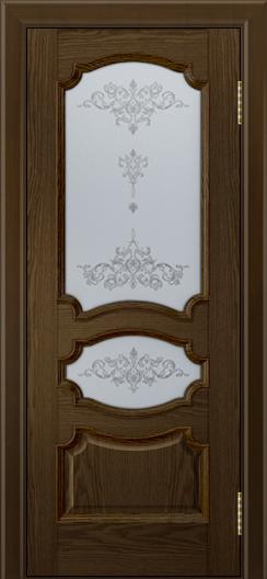 Дверь Лайндор Марта тон 35 стекло Шарм светлое