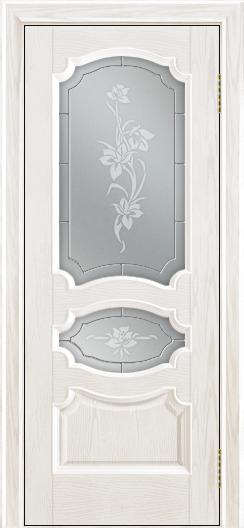 Дверь Лайндор Марта тон 38 стекло Рим