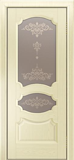 Дверь Лайндор Марта тон 42 стекло Шарм бронза