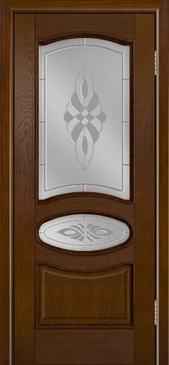 Дверь Лайндор Оливия Л тон 30 стекло Византия