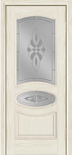 Дверь Лайндор Оливия Л тон 34 стекло Византия