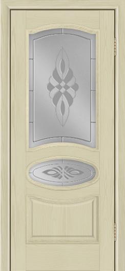 Дверь Лайндор Оливия Л тон 36 стекло Византия