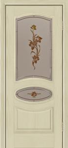 Дверь Лайндор Оливия Л тон 36 стекло Рим-СТ