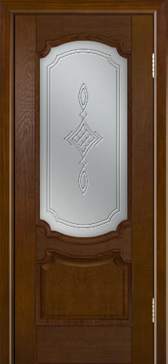Дверь Лайндор Селеста тон 30 стекло Сириус светлое