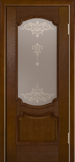 Дверь Лайндор Селеста тон 30 стекло Шарм бронза