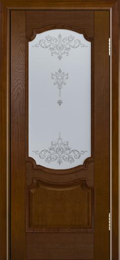 Дверь Лайндор Селеста тон 30 стекло Шарм светлое