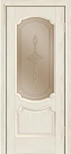 Дверь Лайндор Селеста тон 34 стекло Сириус бронза