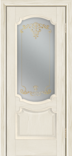 Дверь Лайндор Селеста тон 34 стекло Элегия св наливка золото