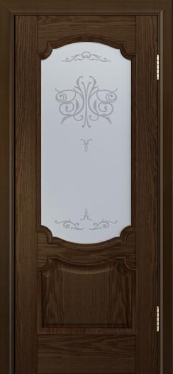 Дверь Лайндор Селеста тон 35 стекло Бабочка