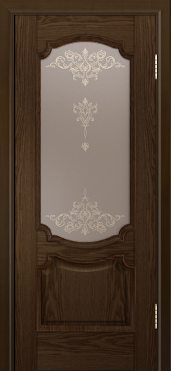 Дверь Лайндор Селеста тон 35 стекло Шарм бронза