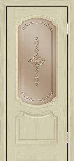Дверь Лайндор Селеста тон 36 стекло Сириус бронза