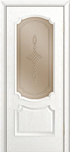 Дверь Лайндор Селеста тон 38 стекло Сириус бронза