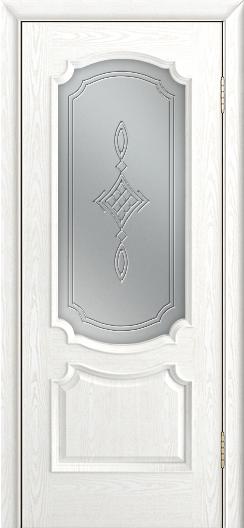 Дверь Лайндор Селеста тон 38 стекло Сириус светлое