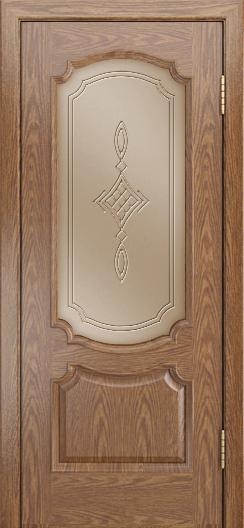 Дверь Лайндор Селеста тон 45 стекло Сириус бронза