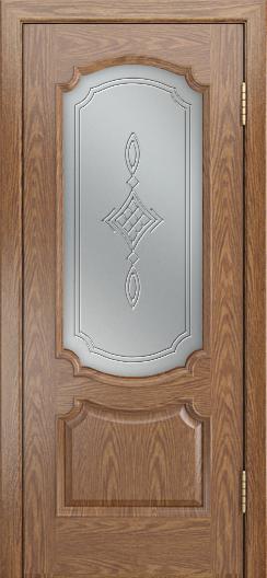 Дверь Лайндор Селеста тон 45 стекло Сириус светлое