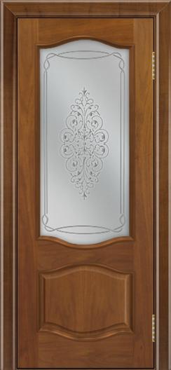 Дверь Лайндор София тон 23 стекло Вива сатин