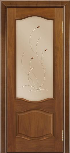 Дверь Лайндор София тон 23 стекло Ковыль бронза