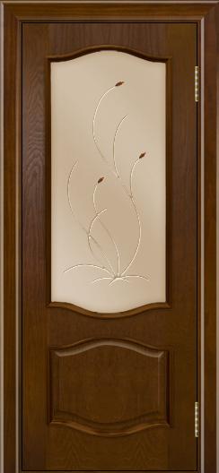 Дверь Лайндор София тон 30 стекло Ковыль бронза