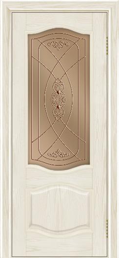 Дверь Лайндор София тон 34 стекло Бронза фреза
