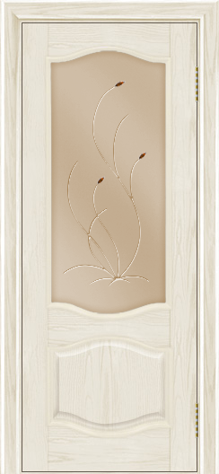 Дверь Лайндор София тон 34 стекло Ковыль бронза