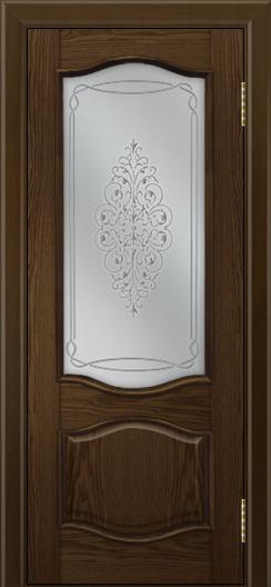 Дверь Лайндор София тон 35 стекло Вива сатин