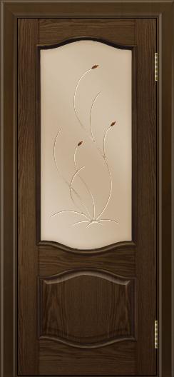 Дверь Лайндор София тон 35 стекло Ковыль бронза