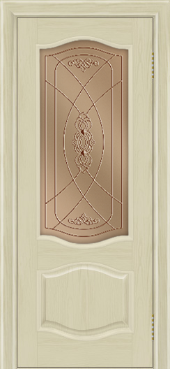Дверь Лайндор София тон 36 стекло Бронза фреза