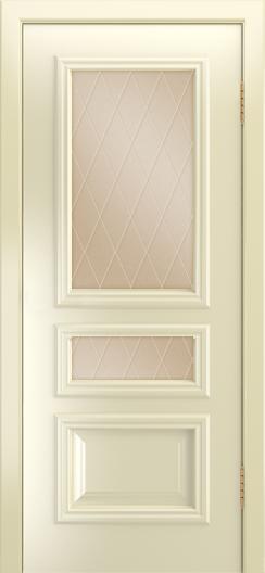 Двери Лайндор Агата Д эмаль бисквит стекло Лондон бронза