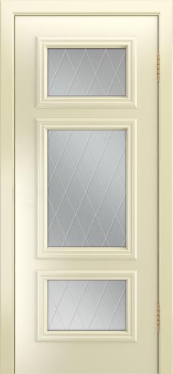 Двери Лайндор Афина Д эмаль бисквит стекло Лондон