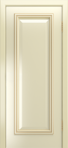 Двери Лайндор Валенсия Д эмаль бисквит патина золото
