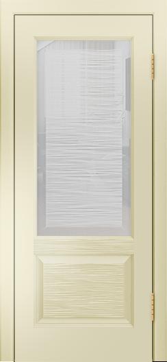 Двери Лайндор Эстелла К эмаль бисквит стекло Волна