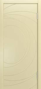 Двери Лайндор Ника Ф2 Сфера эмаль Бисквит