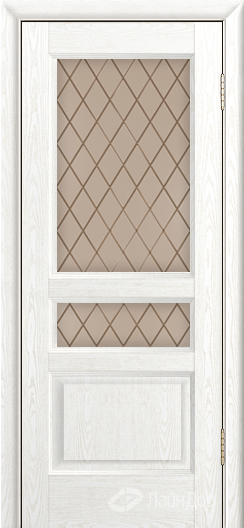 Двери ЛайнДор Калина К тон 38 стекло Милтон бронза