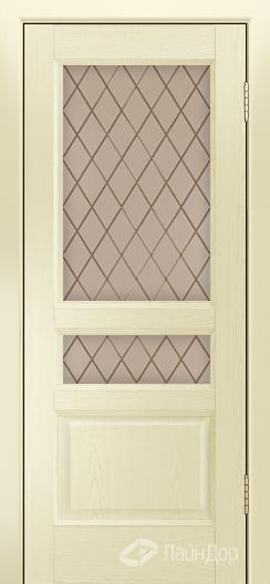 Двери ЛайнДор Калина К тон 42 стекло Милтон бронза