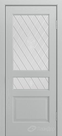 Двери ЛайнДор Калина К тон 46 стекло Лилия