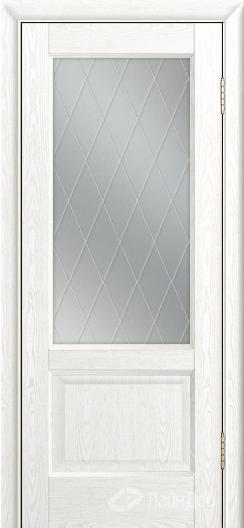 Двери ЛайнДор Кантри К тон 38 стекло Лондон светлое